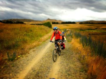 The Trail Gator proved handy on the Otago Central Rail Trail