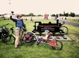 We hired a WeeHoo for the Otago Central Rail Trail and liked it so much we bought one