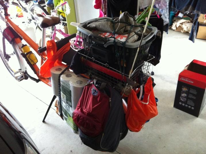 Plenty of room for shopping.