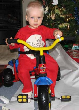 First bike: a Xmas gift