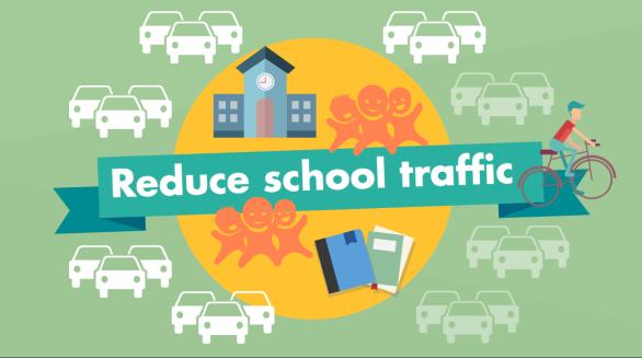 Let's reduce school traffic