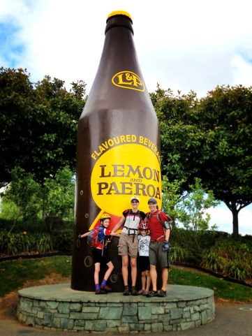 The kids loved the 'big bottle'