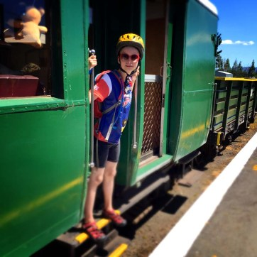 Goldfields Railway, carries bikes!